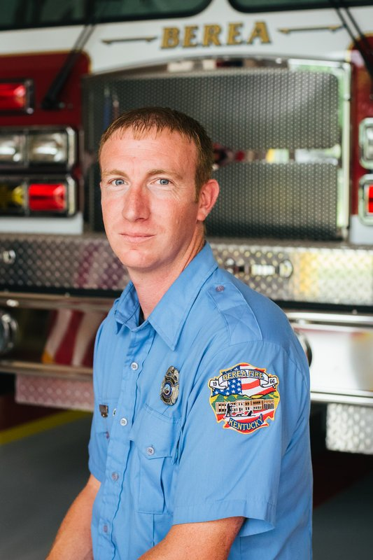 Firefighter Brian Hargis