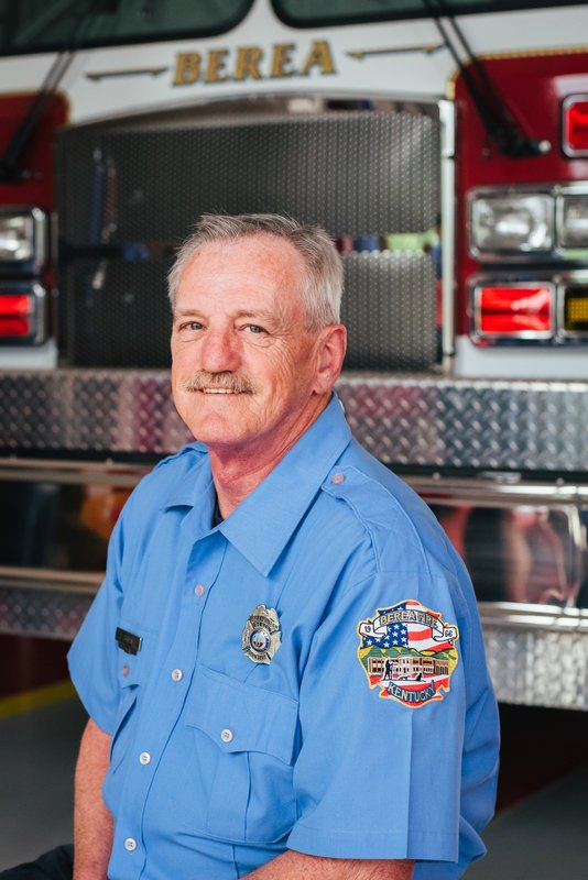 Firefighter Steve Bryant