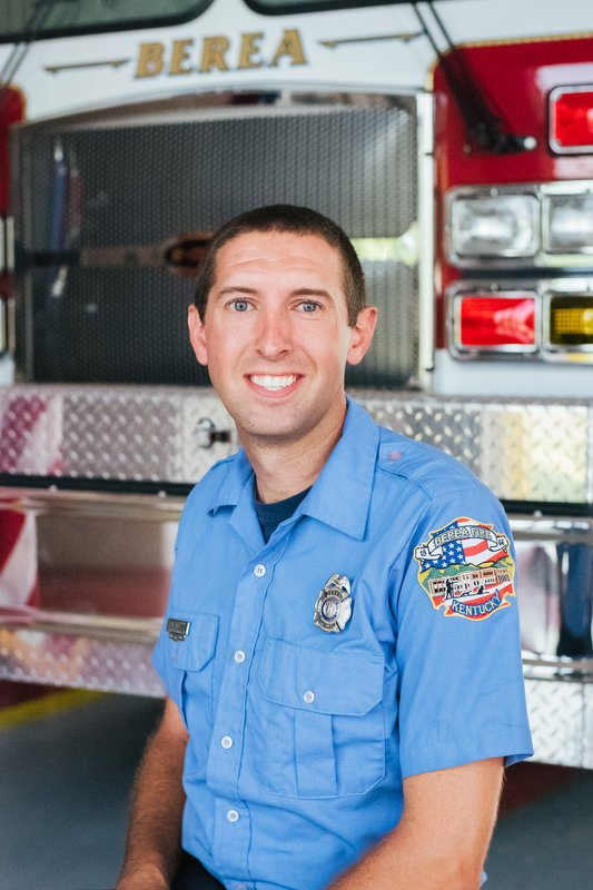 Firefighter Brent Billings
